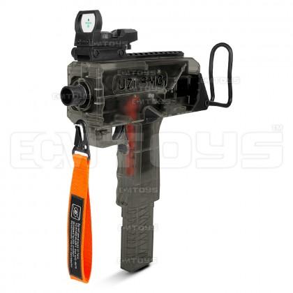 25cm UZI SMG Gel Blaster Kid's Toy - Auto (Black)