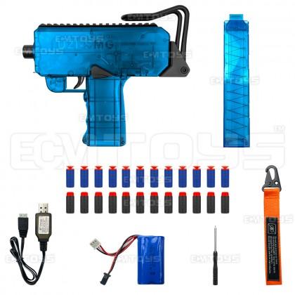 25cm UZI SMG Gel Blaster Kid's Toy - Auto (Blue)
